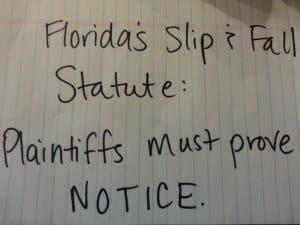 Florida Slip Fall Attorney